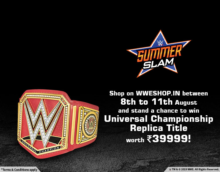 WWE Shop India | Home Of Authentic WWE Merchandise In India | The