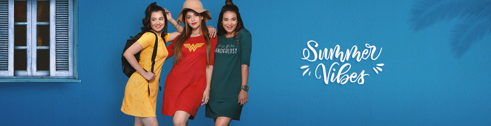 d2400f5d26e9 Buy Casual Cotton T shirt Dresses for Women Online | The Souled Store