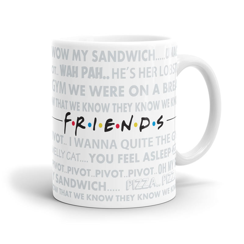 F R I E N D S Dialogues Mugs