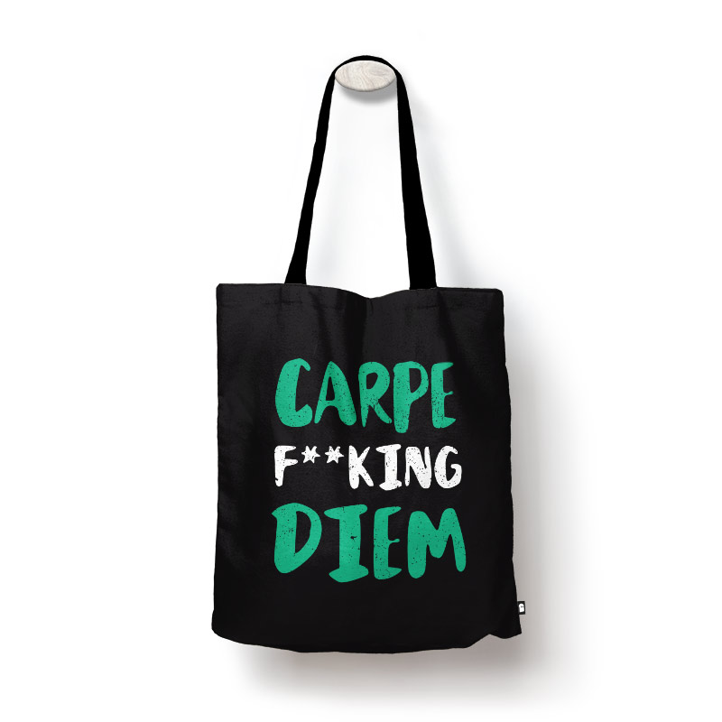 Buy Carpe Diem   Motivational Tote Bags only at The Souled Store 3a874e6a58