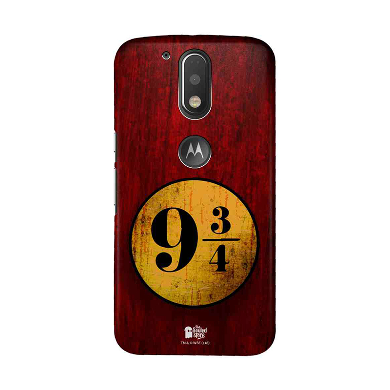 Platform 9 34 Harry Potter Moto G4 Play Mobile Cover The Souled