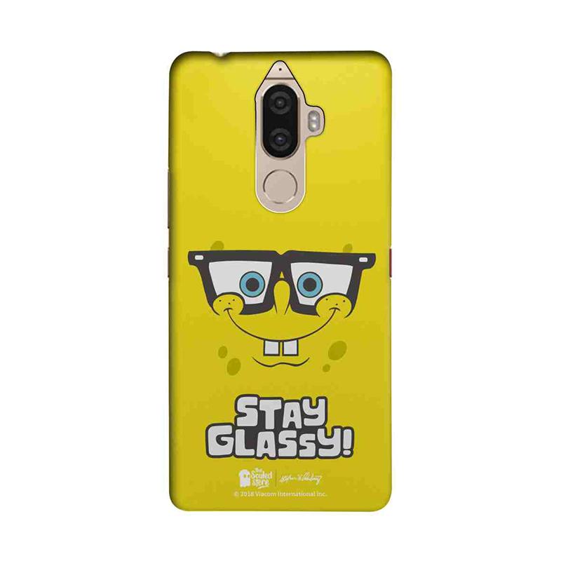 Stay Glassy | SpongeBob Lenovo K8 Note Mobile Cover | The Souled Store