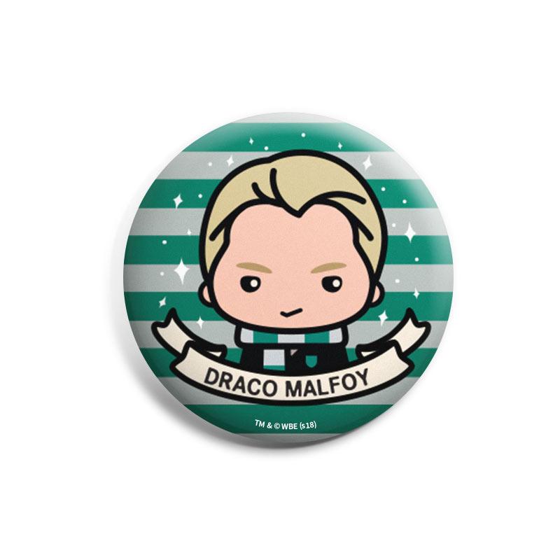 Attractive Shop Harry Potter: Draco Malfoy Badge Image1
