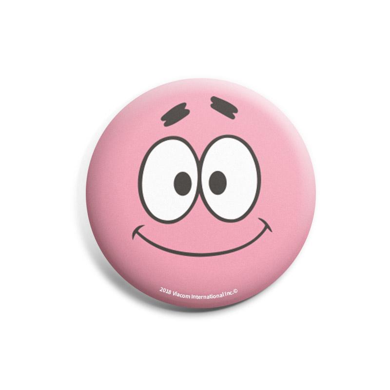 Patrick face spongebob badges the souled store shop spongebob patrick face badge image1 voltagebd Choice Image