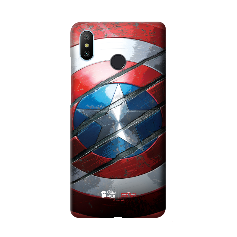 Buy Shield | Captain America Redmi 6 Pro Mobile Cover only at The Souled Store