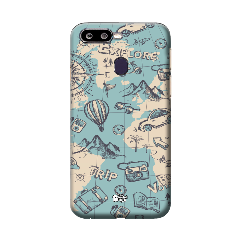 on sale e3a95 03947 Buy Funky Oppo F9 Pro Mobile Covers & Cases Online   The Souled Store