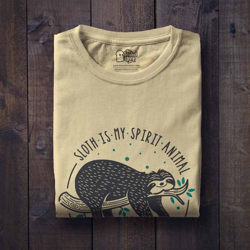6c55b1b0 Buy Buy My Spirit Animal T-shirt Online only at The Souled Store