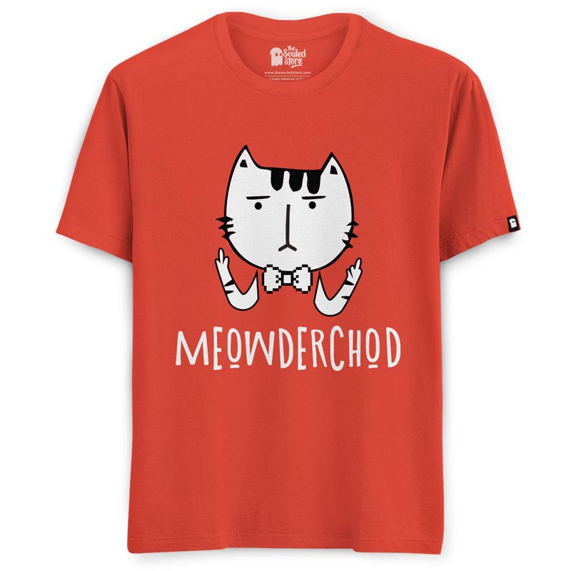 60ae4d02 Buy Official EIC Meowderchod T-shirt Online   The Souled Store