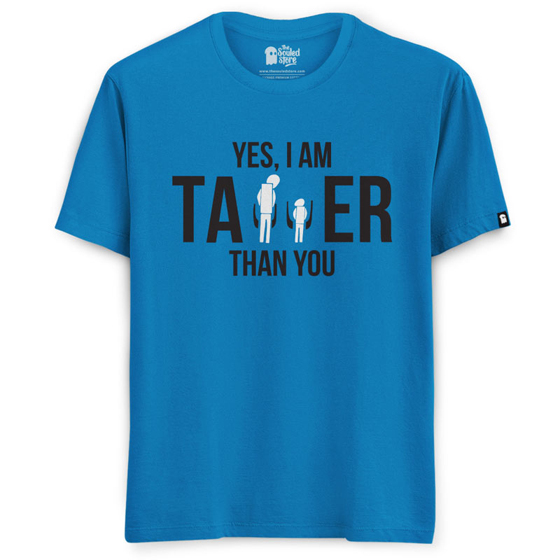 6b4bf025 Buy Buy Official EIC Taller Than You T-shirt Online only at The Souled Store