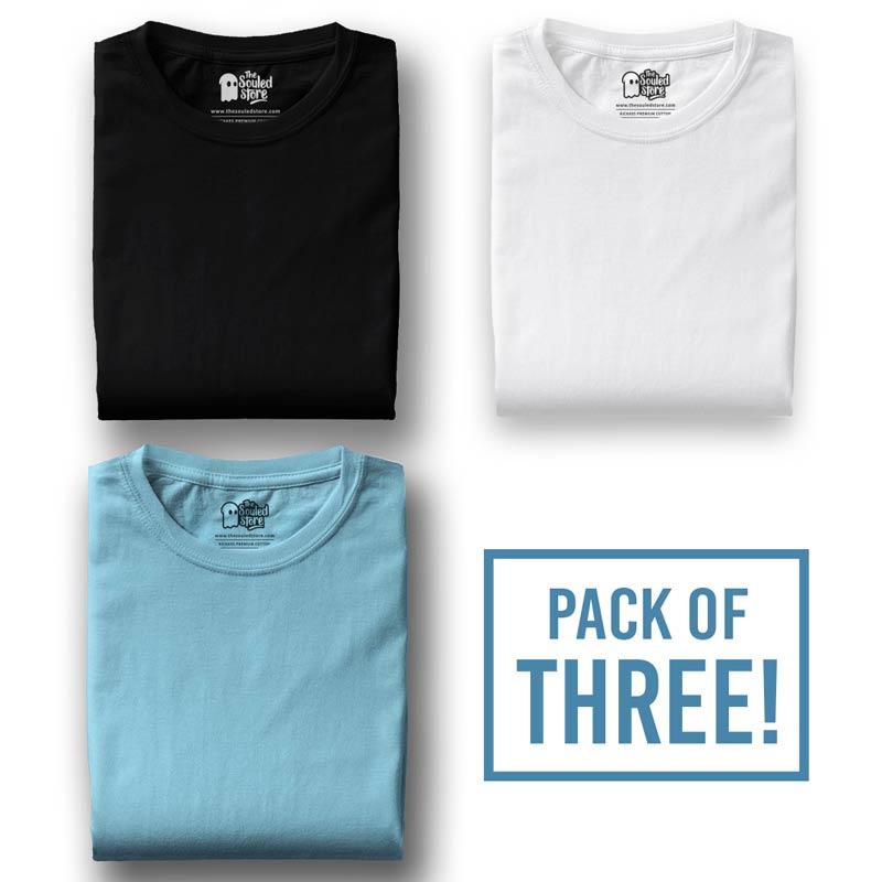 59be56603 Buy Buy Pack Of Three Black