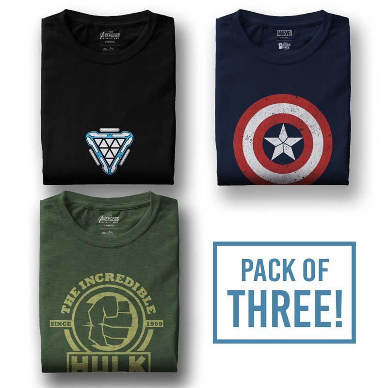 Kaos Captain America Logo 3 Pilihan Online Terbaik