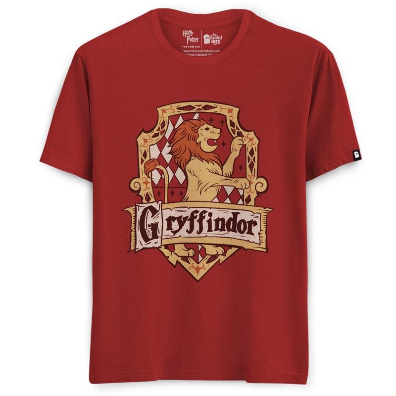 738f55508938 Buy Buy Official Harry Potter Gryffindor Sigil T-shirts For Men & Women  Online Only