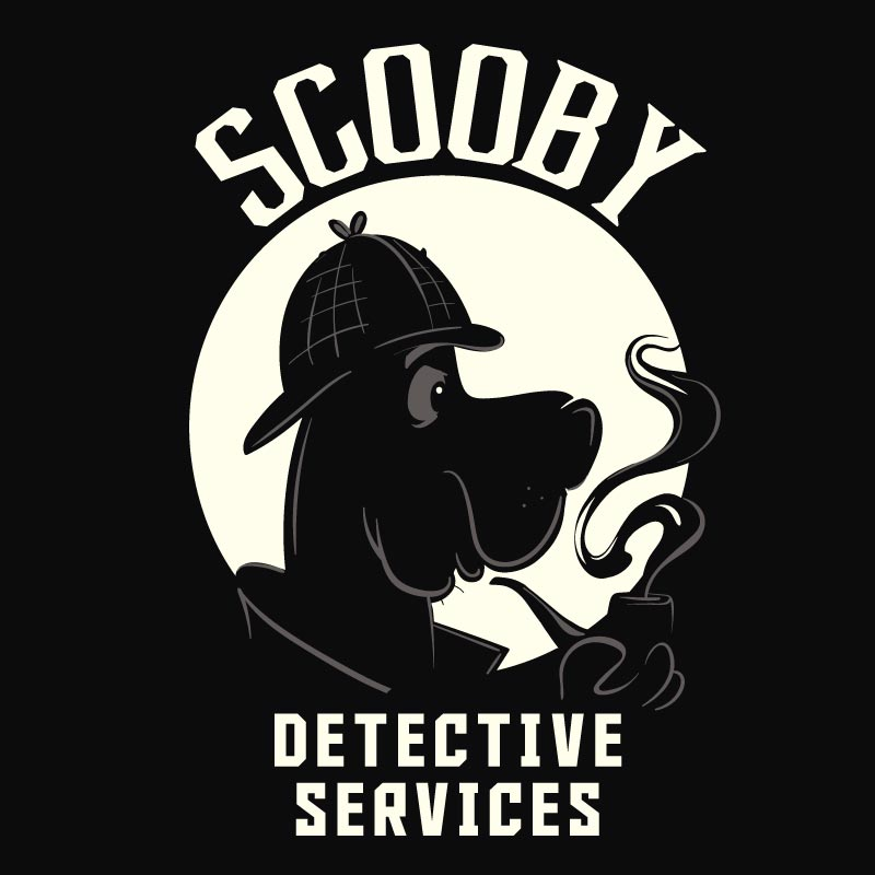 Buy Official Scooby Doo Detective Services T-shirt Online