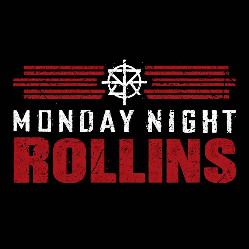 """Official WWE Seth Rollins /""""Monday Night Rollins/"""" T-Shirt"""