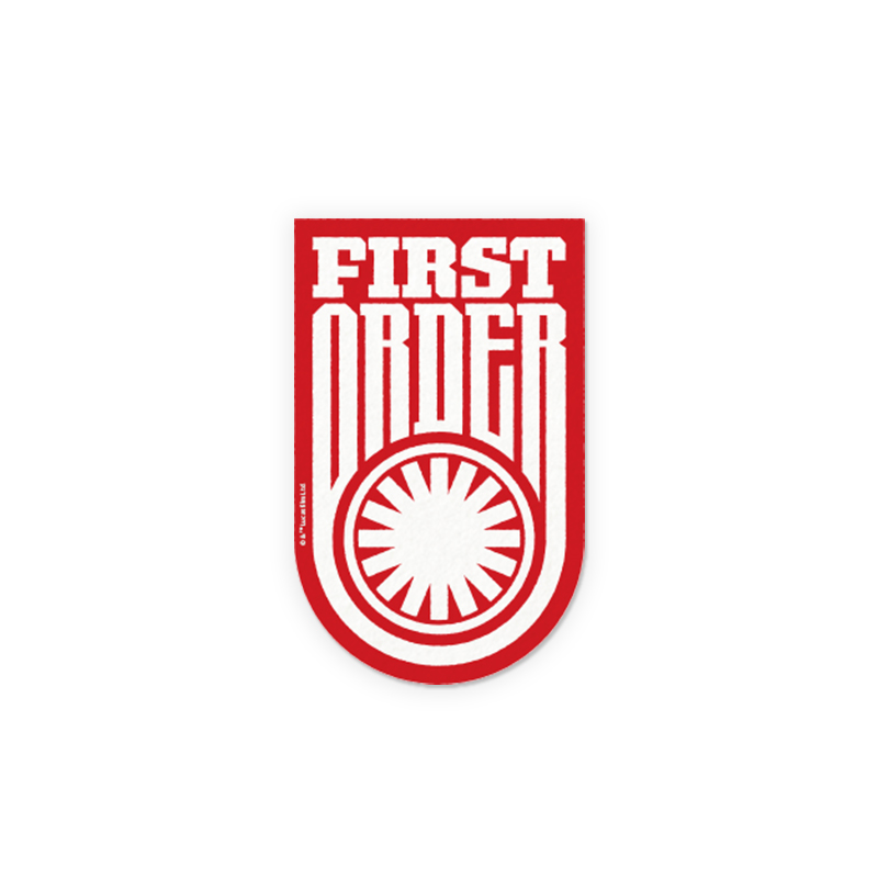 First Order Star Wars Stickers The Souled Store
