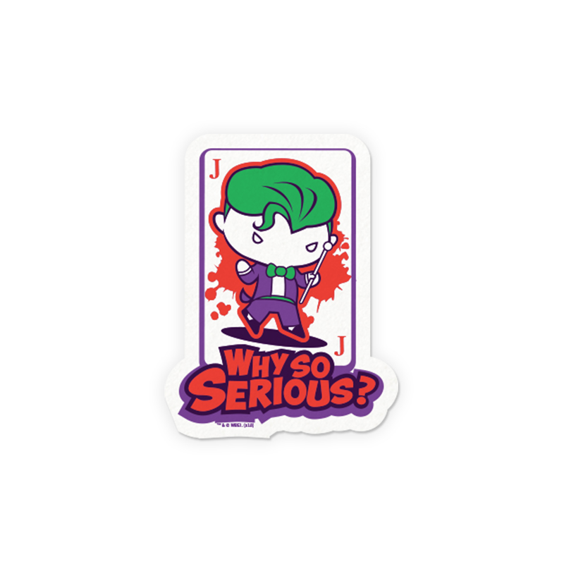 4e80aad83 Buy Buy Official DC Comics' Joker: Why So Serious? Sticker Online only at