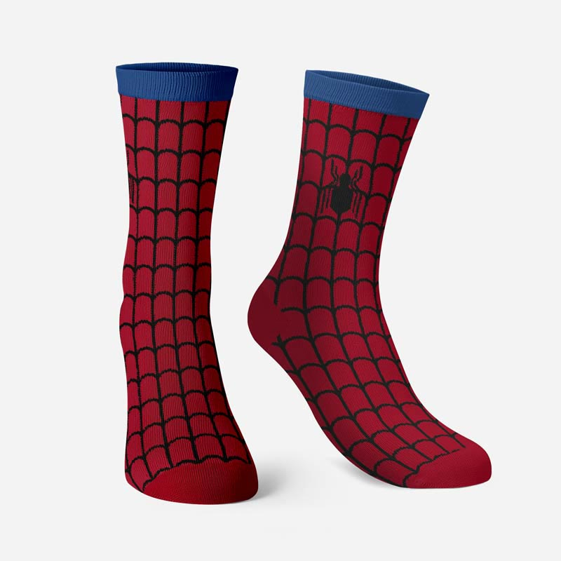 29f3ab1ce shop-Spider-Man  Spin The Web-Socks-image1