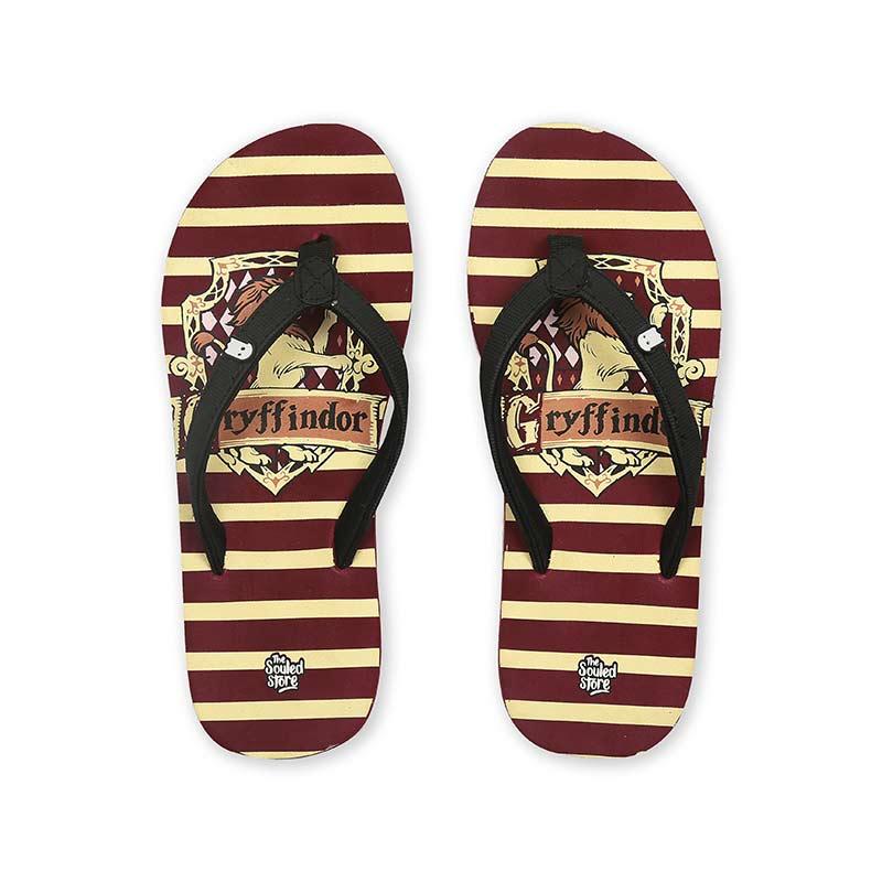 82d7da029d13 Buy Buy Official Harry Potter Gryffindor Sigil Flip Flop Online only at The  Souled Store