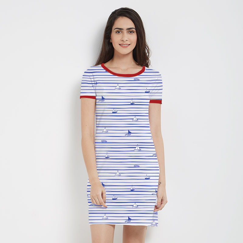 T-Shirt Dress Pattern