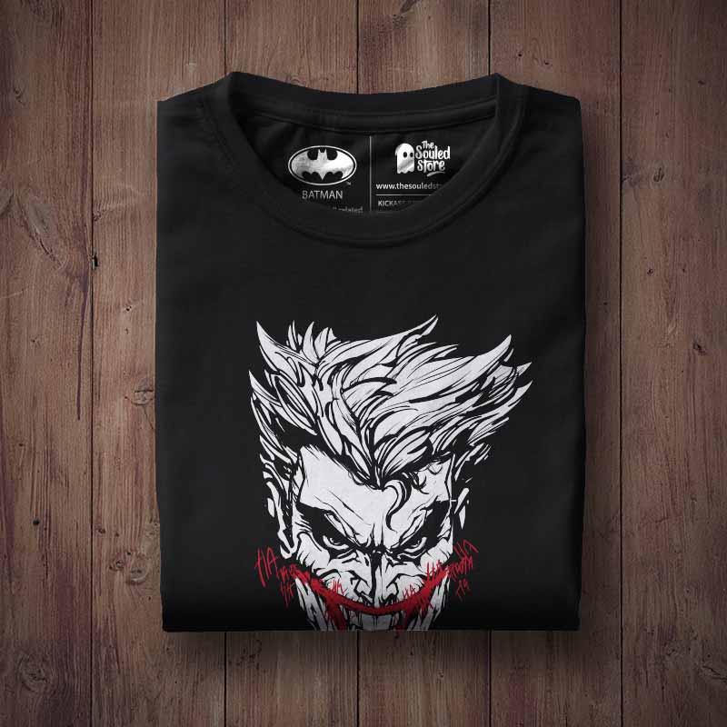 331818f4d Buy Buy Official DC Comics' Joker Devil's Advocate (Glow in the Dark) T