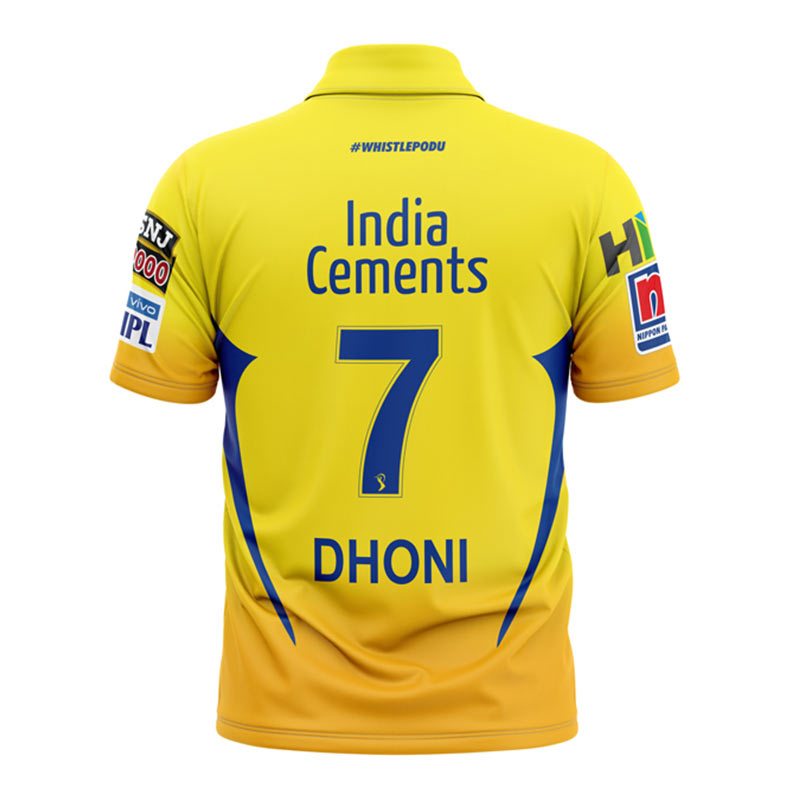 56c62cbe6 Buy Buy Official CSK Match Replica Jersey only at The Souled Store