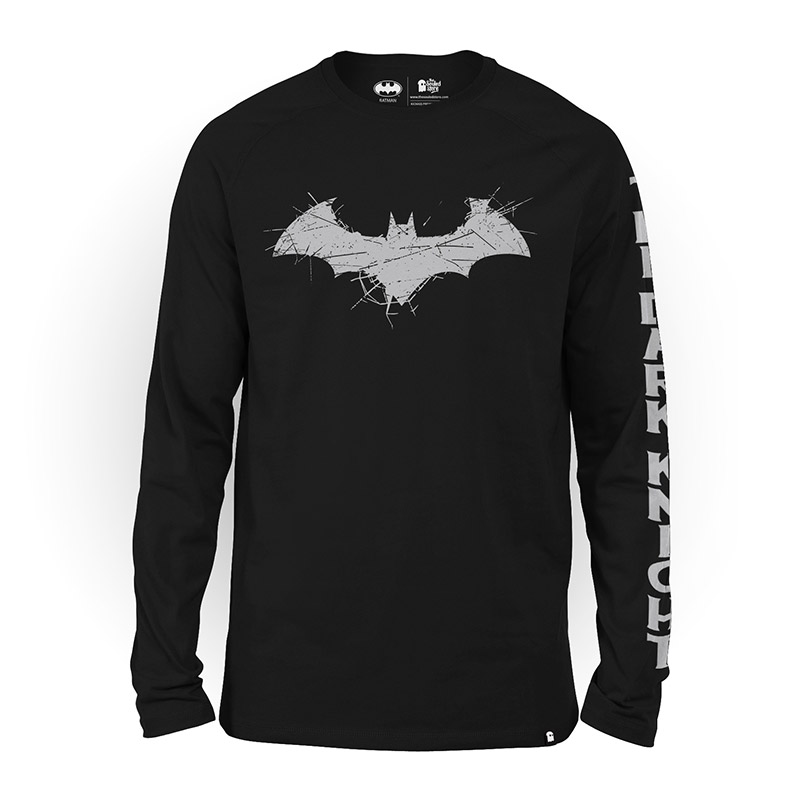 5d45f4710 Buy Buy Official DC Comics' Batman Logo Full Sleeve T-shirt Online only at